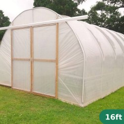 16ft Wide Polytunnel
