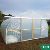 18ft Wide Polytunnel