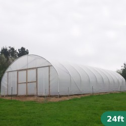 24ft Wide Polytunnel