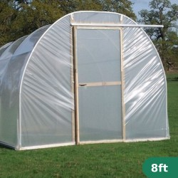 8ft Wide Polytunnel