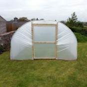 12ft Wide Polytunnel
