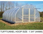 16ft (4.9m) x 35ft (10.6m) - TuffTunnel Polytunnel