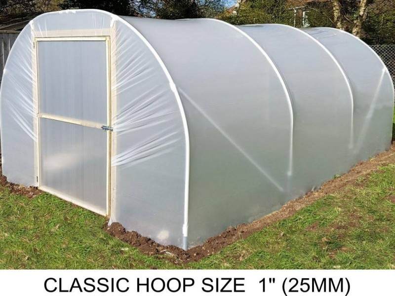 8ft (2.4m) x 10ft (3m) - Classic Polytunnel