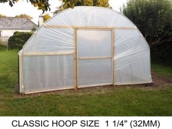 14ft (4.2m) x 25ft (7.6m) - Classic Polytunnel