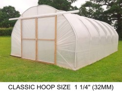 16ft (4.9m) x 30ft (9.1m) - Classic Polytunnel