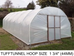 14ft (4.2m) x 15ft (4.6m) - TuffTunnel Polytunnel