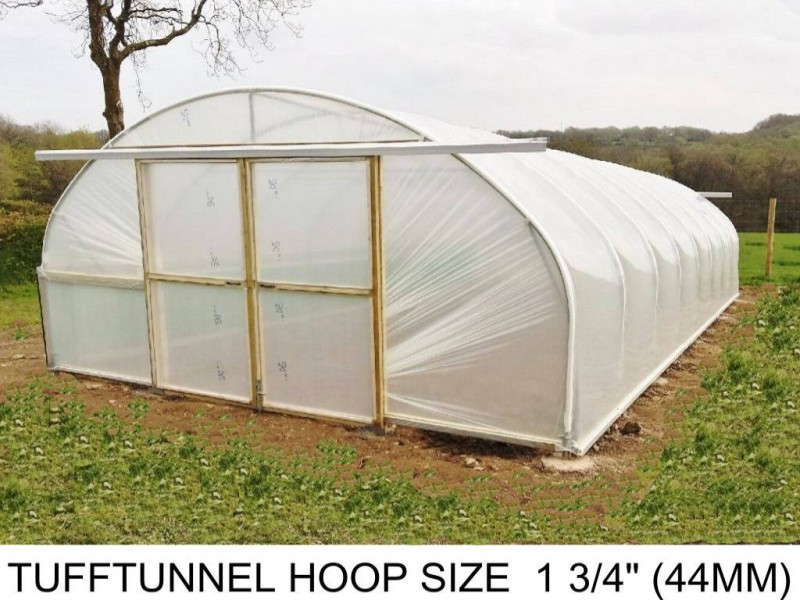 18ft (5.5m) x 55ft (16.7m) - TuffTunnel Polytunnel