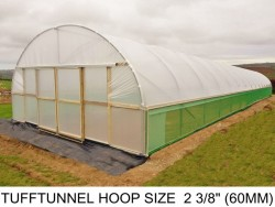 24ft (7.3m) x 39.6ft (12m) - TuffTunnel Polytunnel